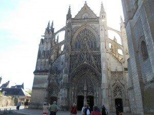 L'abbaye de la Trinité à Vendôme